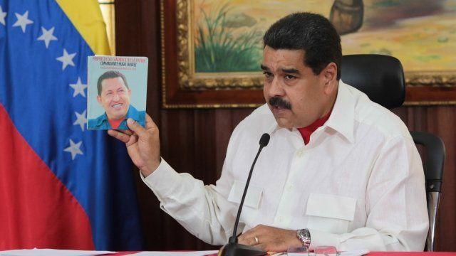 Maduro y Chávez