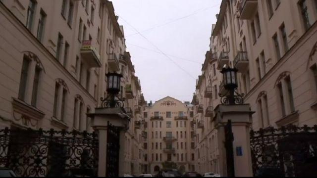 Дом Довлатова в Петербурге