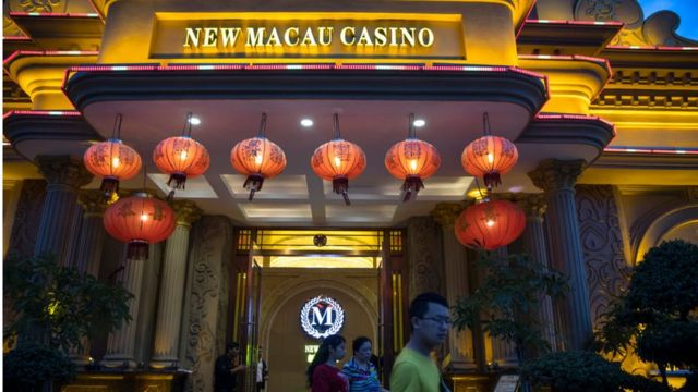 Một casino của Trung Quốc tại Sihanoukville, Campuchia