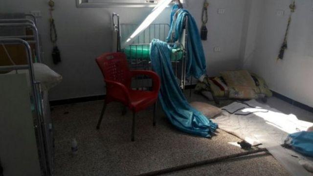 مستشفى مدمر