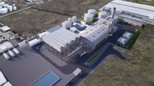 Civil servants approve Belfast power station plans