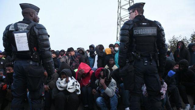 'Yan cirani a sansanin Calais