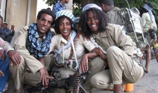 Erithrea women soldiers