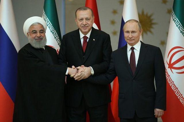 رییس جمهور ایران، ترکیه و روسیه