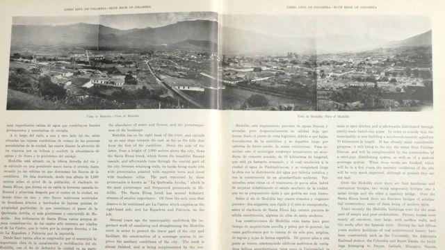 Panorámica de la ciudad de Medellín.