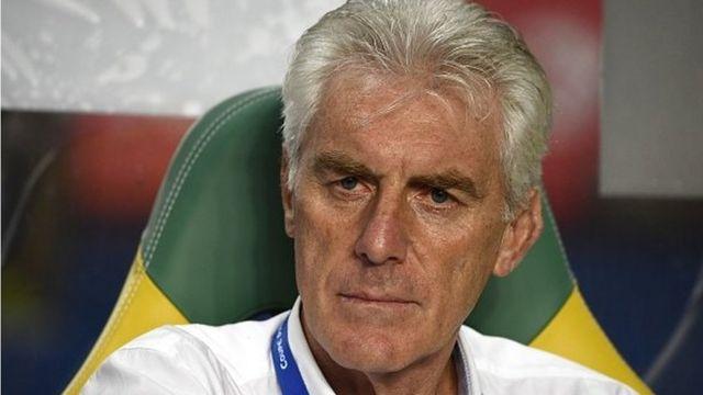 """Hugo Broos assure que le public camerounais verra """"une équipe déterminée à battre le Ghana""""."""