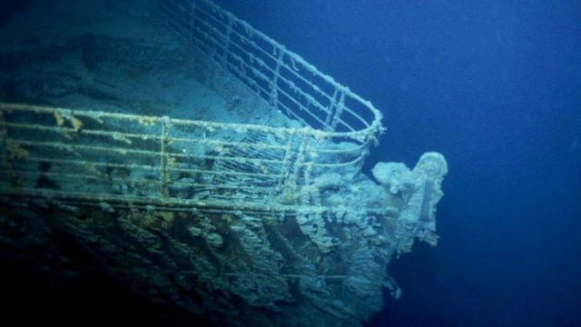 """""""Титаник"""" на дне"""