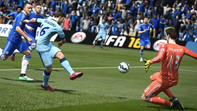 Screenshot from Fifa 16