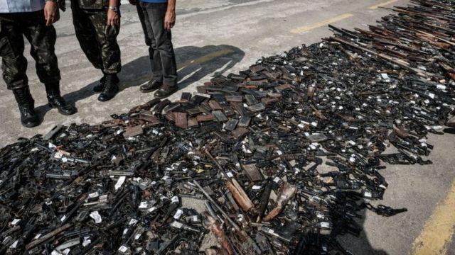 Armas no Rio de Janeiro