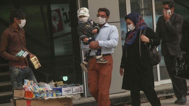 گرد و غبار شمار بیماران تنفسی را در خوزستان افزایش میدهد