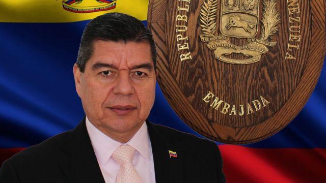Wilmer Barrientos. Foto: Embajada de Venezuela en Canadá.