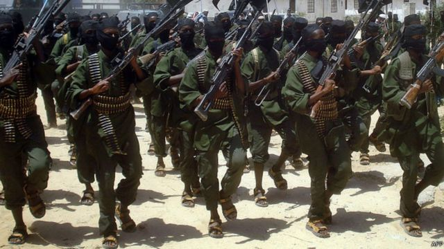 le groupe islamiste somalien al-Shabab
