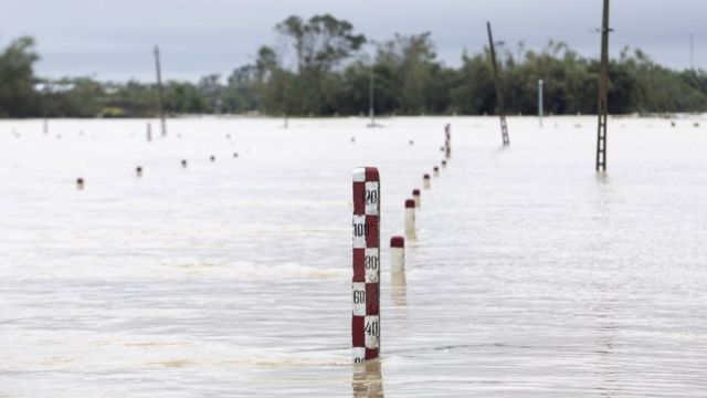 Vietnam is experiencing some of its worst flooding in decades, the Red Cross says