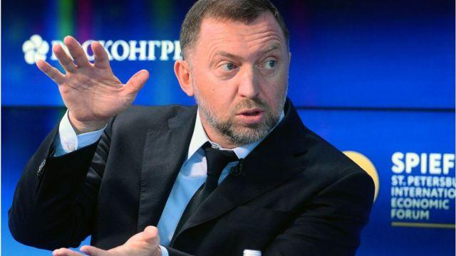 Oleg Deripaska, controlling shareholder in Rusal