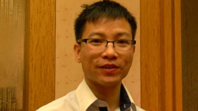 Quoc Le, talking to the BBC in Singapore