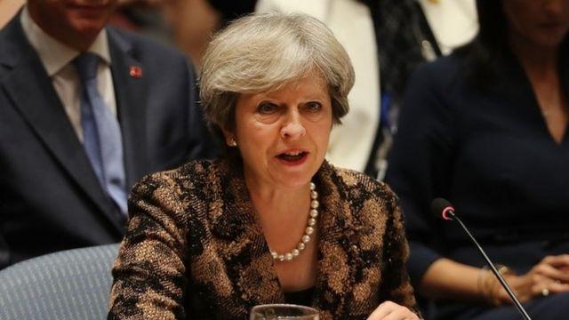 ترزا می، نخستوزیر بریتانیا