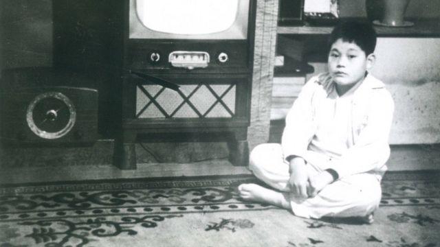 Li Jianxi's childhood photos (the Samsung Group released photos on October 25, 2020)