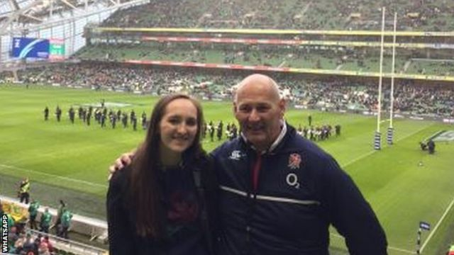 Steve Buckingham and daughter Matilda