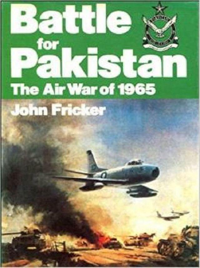 Buugga John Fricker ee lagu magacaabo 'Battle for Pakistan'