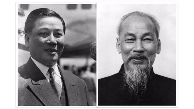 Một số người cho rằng Ngô Đình Diệm là chính khách duy nhất có thể cạnh tranh với Hồ Chí Minh