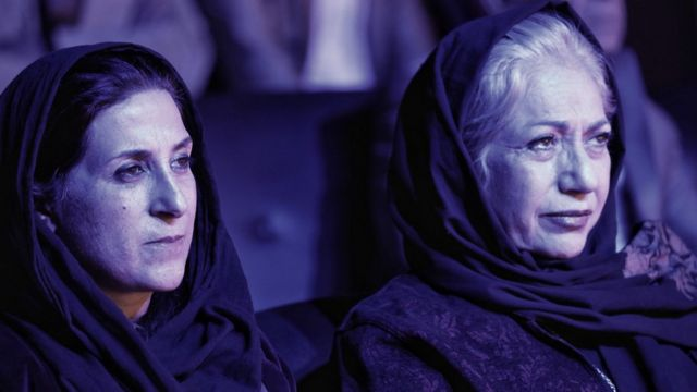 رخشان بنی اعتماد و فاطمه معتمدآریا در جشنواره بینالمللی فیلم زنان - هرات