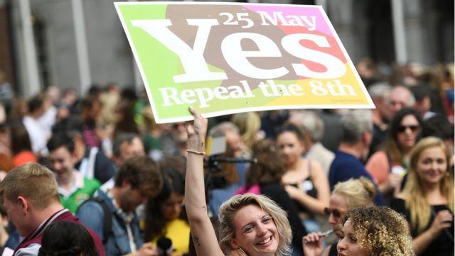 Los defensores de la reforma se movilizaron de forma masiva.