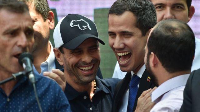 Capriles y Guaidó: las elecciones parlamentarias provocan un cisma en el seno de la oposición de Venezuela - BBC News Mundo