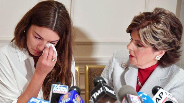 Мими Халеји је једна од жена која је оптужила Вајнстина
