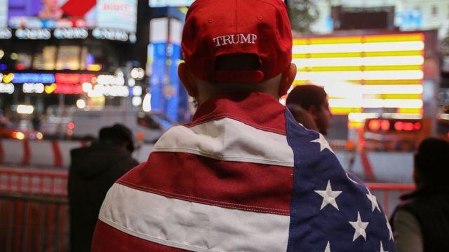 Donald Trump Amerikanın 45-ci prezidenti seçilib.