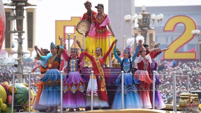 中国国庆70周年庆祝