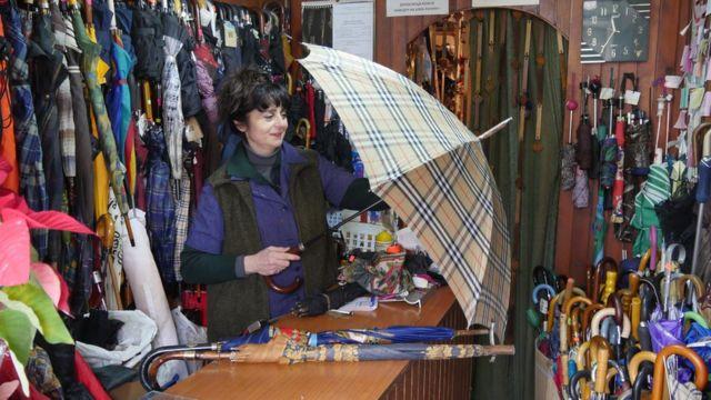 坦妮婭:現在買的傘多少能用40年呢?