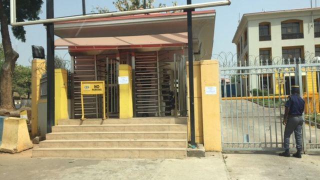 Ofishin MTN a Abuja, Nigeria