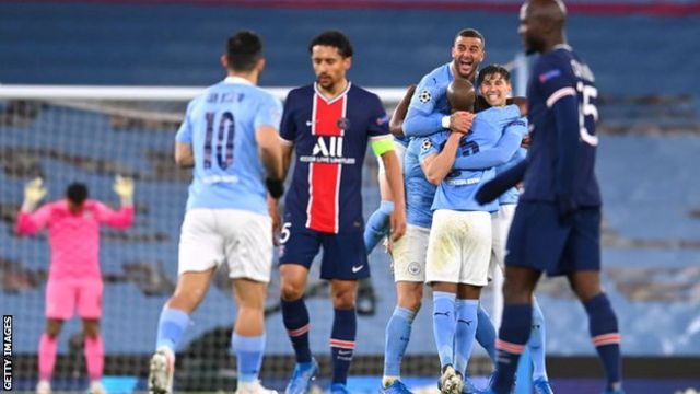 Champions League draw: Manchester City to face PSG and Chelsea will meet  Juventus - BBC Sport