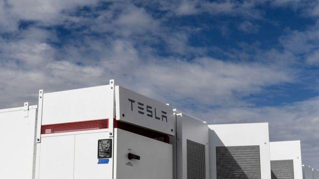 Planta de baterías de Tesla