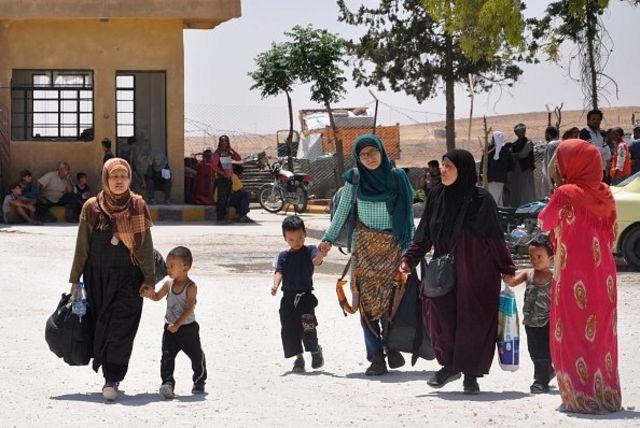 Leefa dan mantan pengikut ISIS lainnya