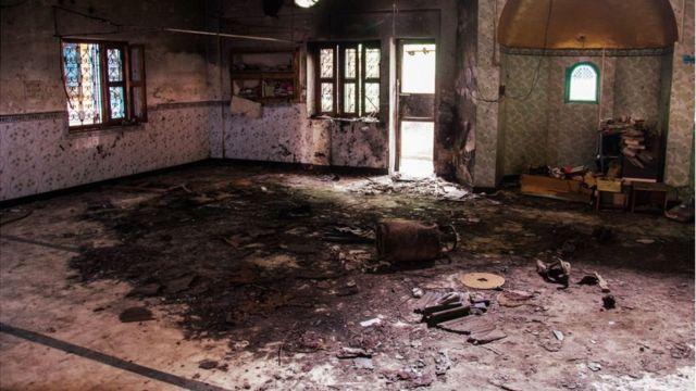 दिल्ली में मस्जिद पर हमला