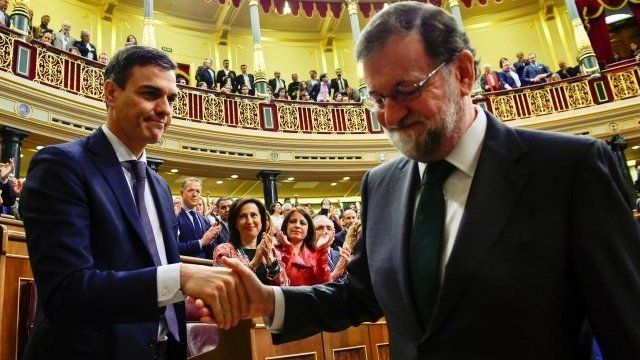 Rajoy y Sánchez