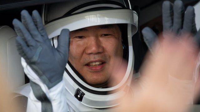 تاکسی فضایی سوئیچی ناگوچی پیشتر با کپسول سویوز و شاتل فضایی هم به فضا رفته بود