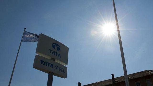 यूरोप में टाटा के स्टील प्लांट