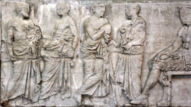 деталь фриза Парфенону