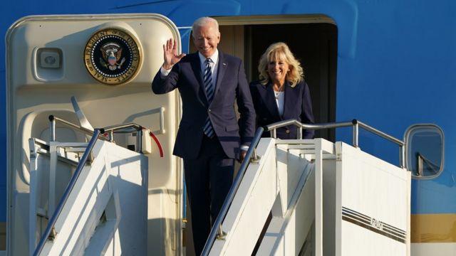 Biden and Mrs Biden