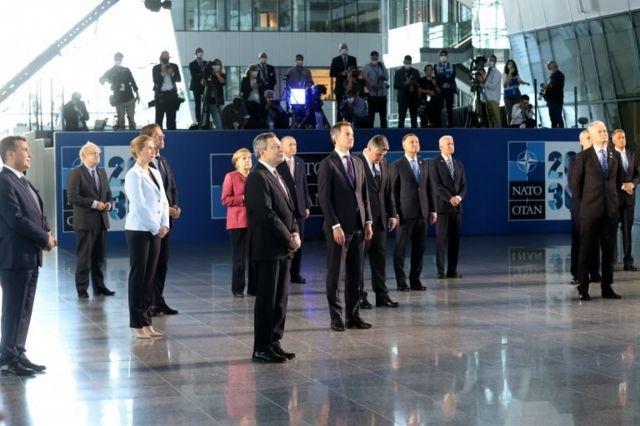 NATO liderleri