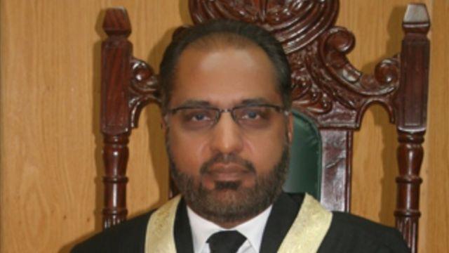 جسٹس شوکت صدیقی