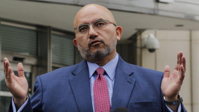 """Eduardo Balarezo, abogado de """"El Chapo"""" Guzmán."""