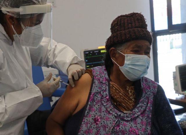 Vacinação na Bolívia