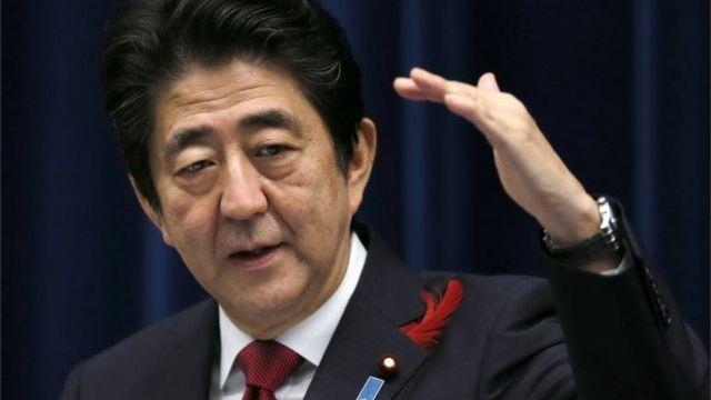 日本の安倍晋三首相は6日の記者会見で、TPPに中国が参加すれば地域の安定性に貢献できると指摘した