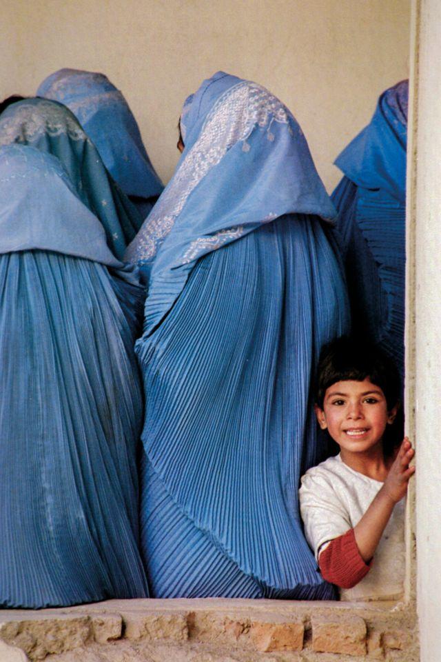 Kabul, Afganistán, 2001.