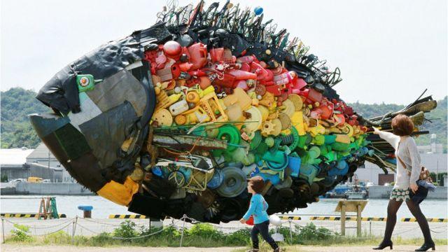 प्लास्टिकचा मासा