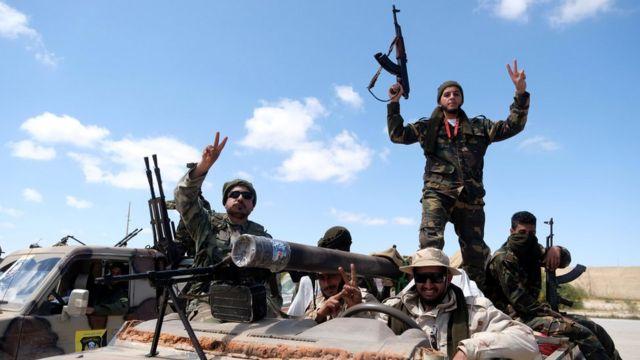 Военные Ливийской национальной армии