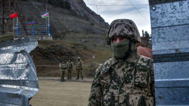 солдат у Шуши